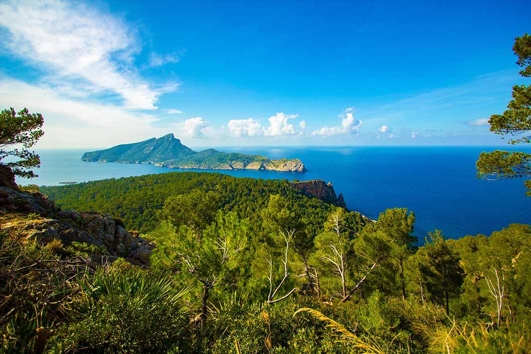 Visitar el Parque Natural de la Dragonera, Mallorca