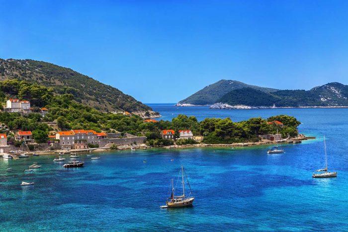 Visitar las islas Elaphiti en Dubrovnik