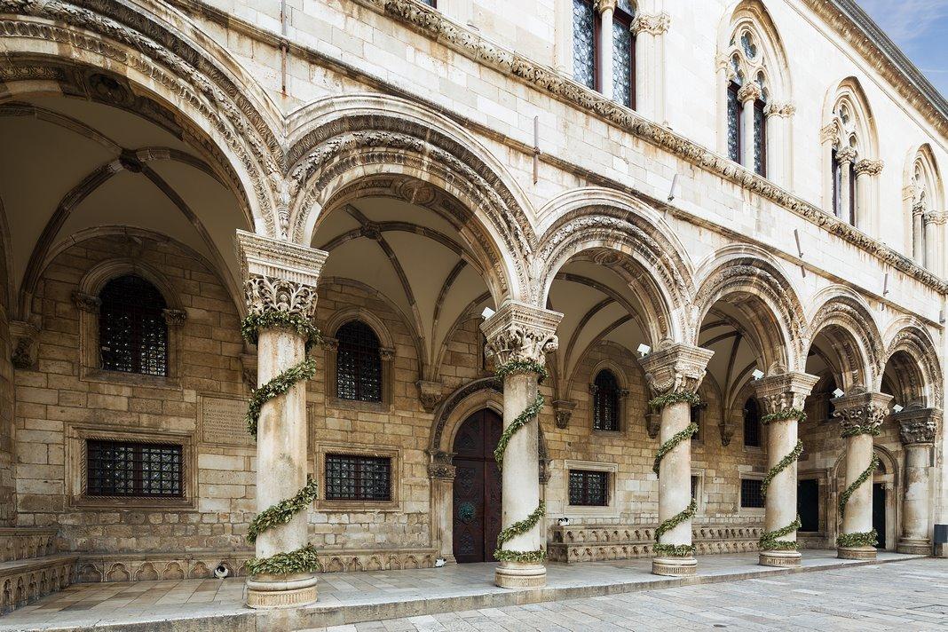 Que ver en Dubrovnik: El Palacio del Rector