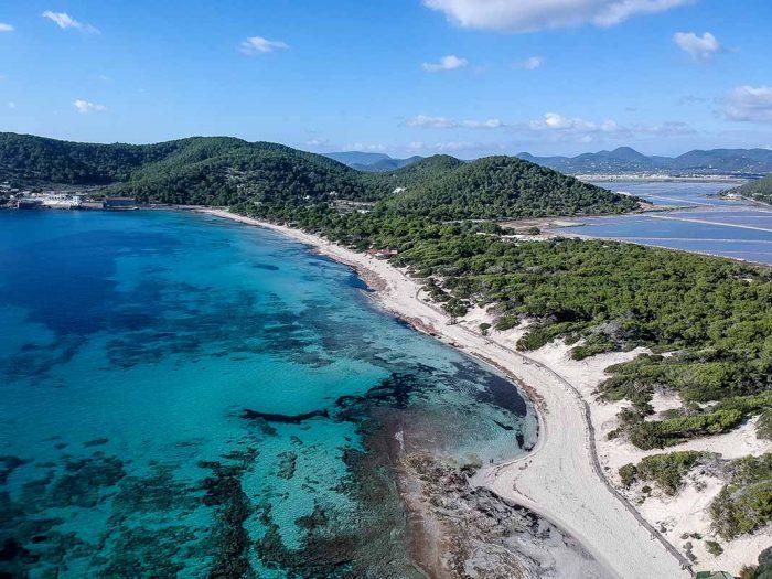 Conocer El Parque Natural de Ses Salines en Ibiza