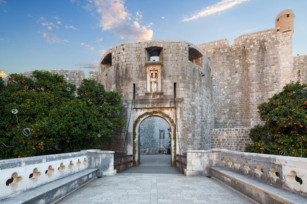 Que visitar en Dubrovnik: la Puerta Pile