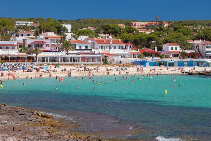 Hospedarse en Punta Prima, Menorca