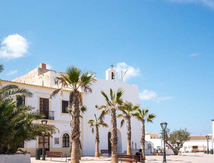 Alojamiento en Sant Francesc Xavier, Formentera