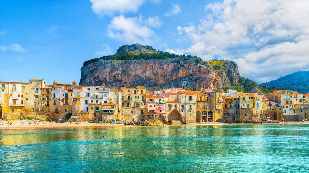 Dormir en Cefalú, Sicilia