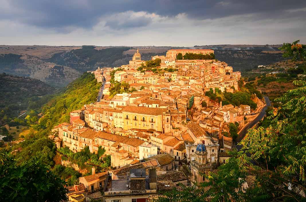 Dormir en Ragussa, Sicilia