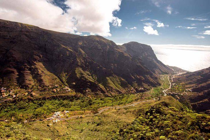 Alojarse en Valle Gran Rey, la Gomera