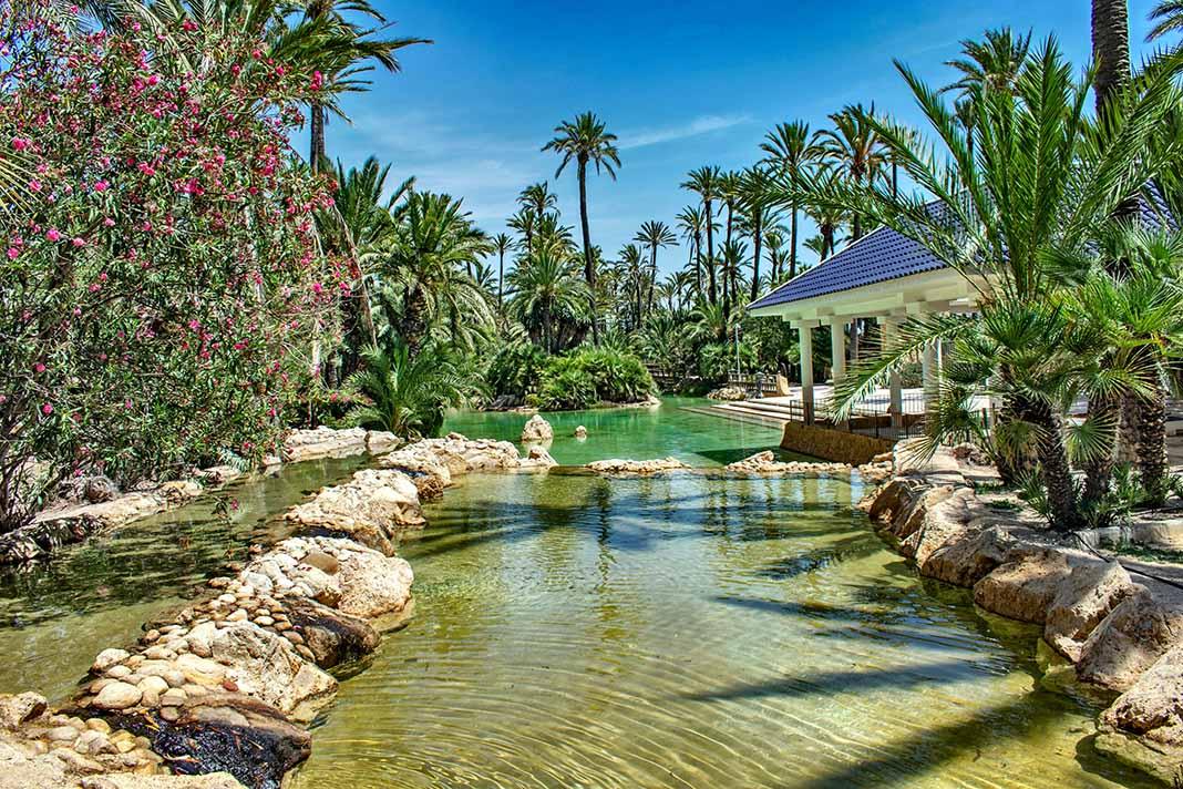 El Parque del Palmeral de Alicante