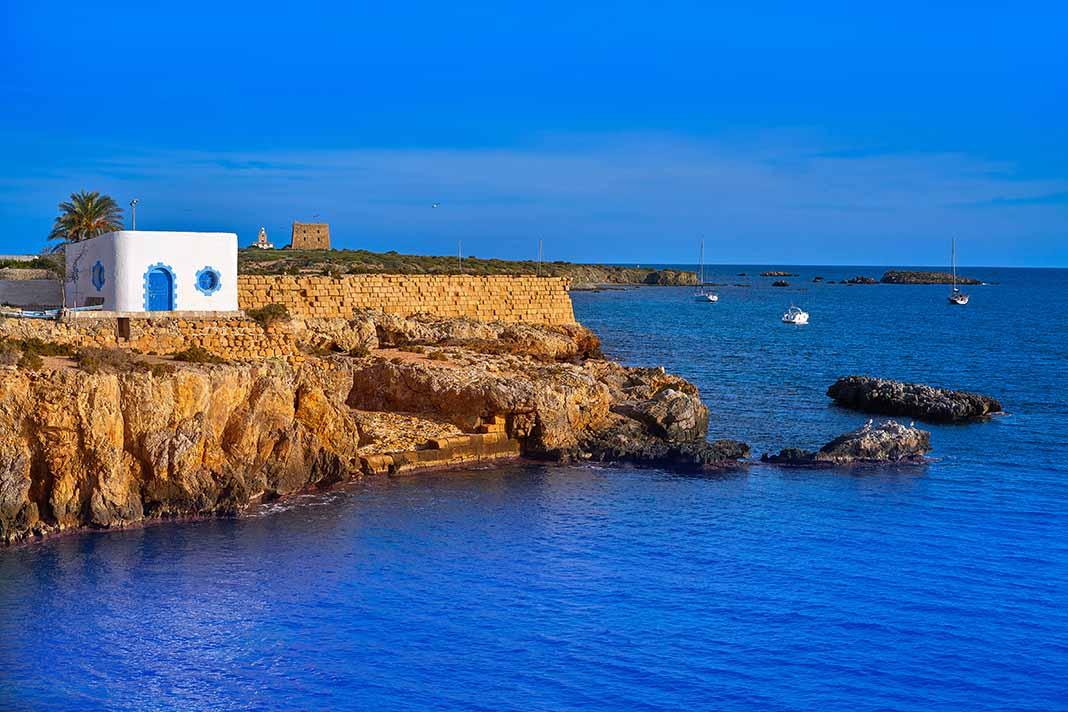 Navegar por la Isla de Tabarca en Alicante