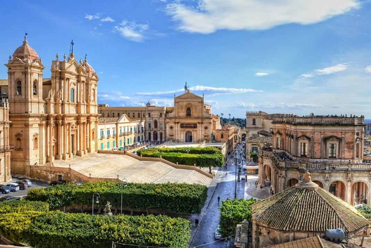Alojarse en Noto.Sicilia