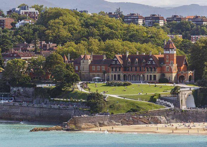Relajarse en San Sebastián paseando por los Jardines de MiraMar