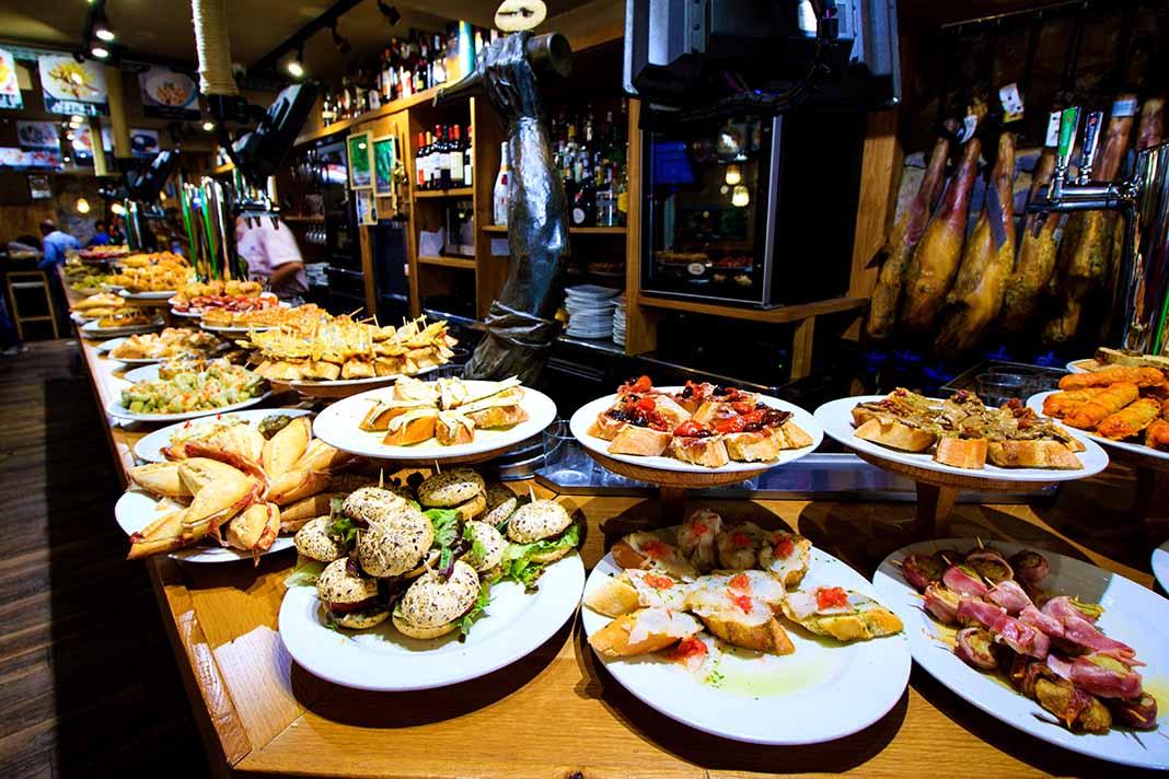 Comer en San Sebastián: los famosos pinxos