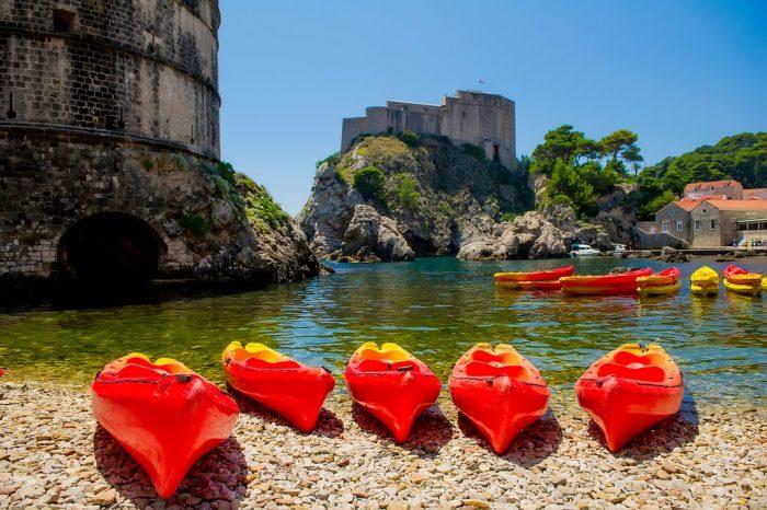 Qué hacer en Dubrovnik: excursión en kayak