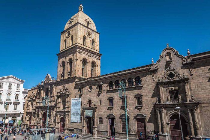 Visitar la Basilica de San Francisco en La Paz, Bolivia