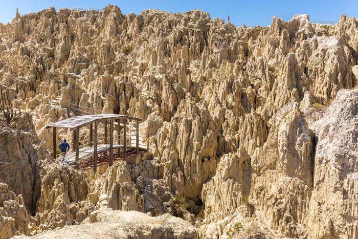Perderse por el Mágico Valle de La Luna en La Paz. Bolivia