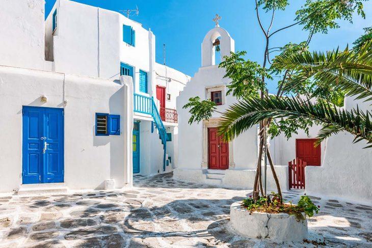 Las mejores zonas donde alojarse en Mykonos