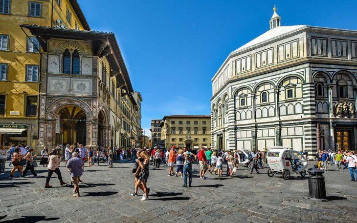 Alojarse en el centro histórico de Florencia:Duomo