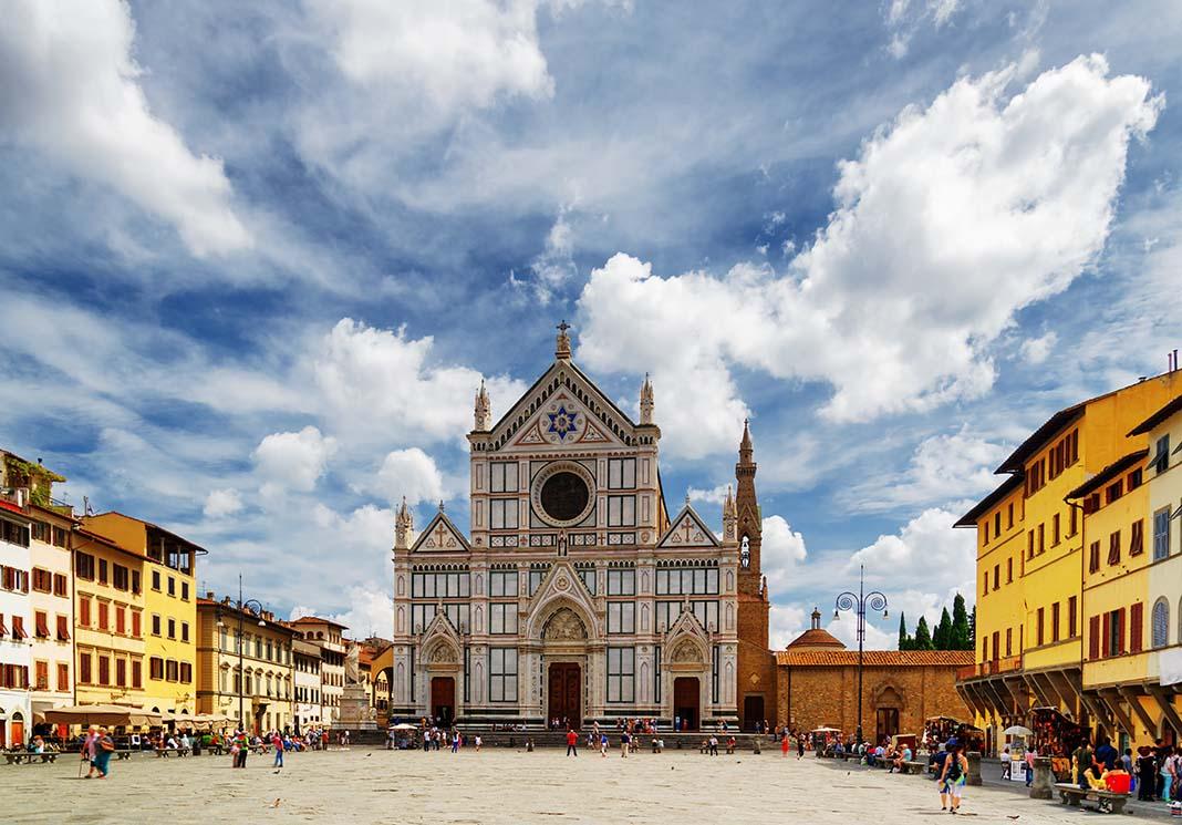 Alojarse en Florencia, en la zona de Santa Croce