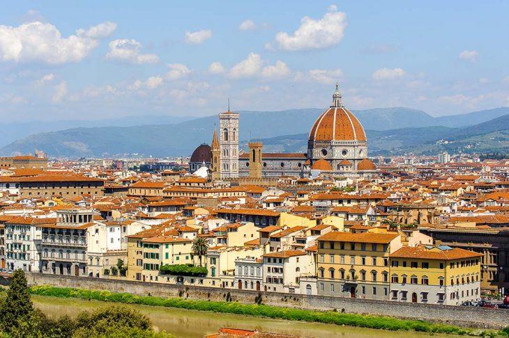 Alojarse en Florencia por la zona de la Piazzale Michelangelo