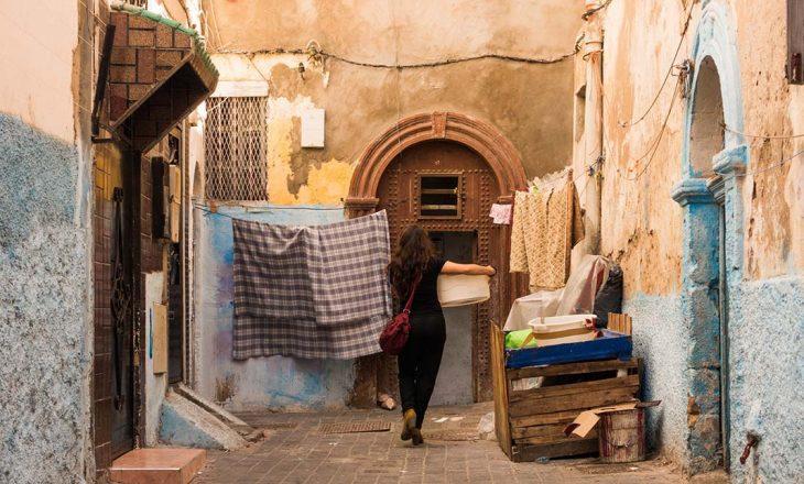 Dónde alojarse en Casablanca, la antigua medina.