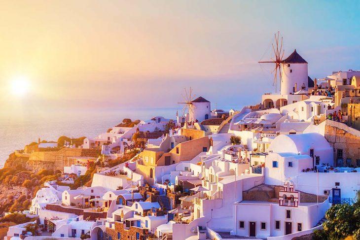 Hospedarse en oia: Santorini, Grecia