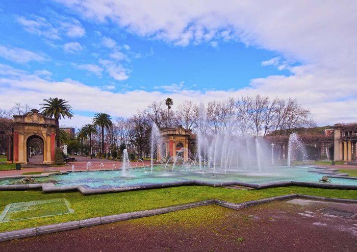 Pasear por el parque de Bilbao: Doá Casilda