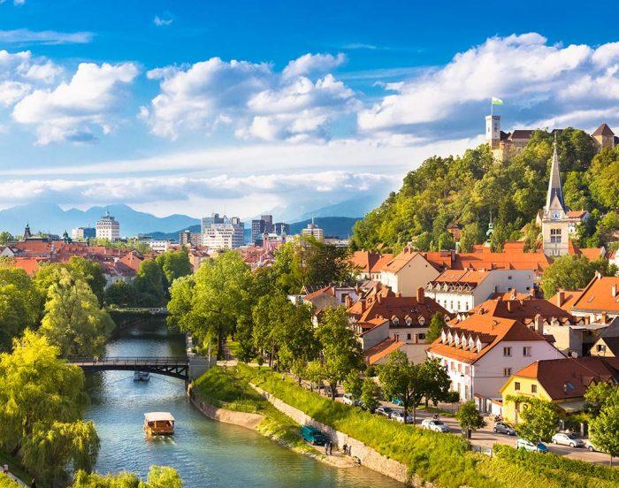 Zagreb, ideal para visitar Liubliana, la capital de Eslovenia.