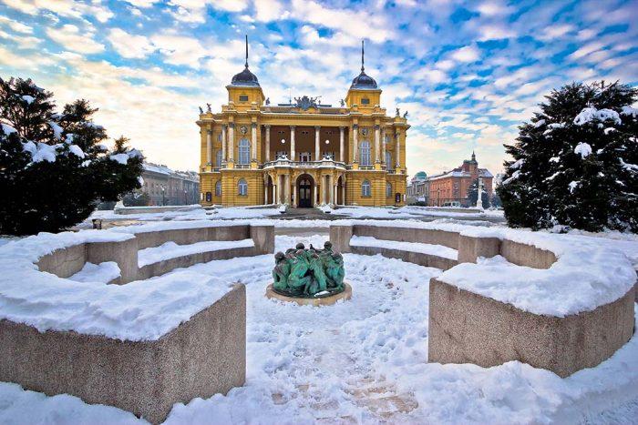 El Teatro Nacional de Zagreb