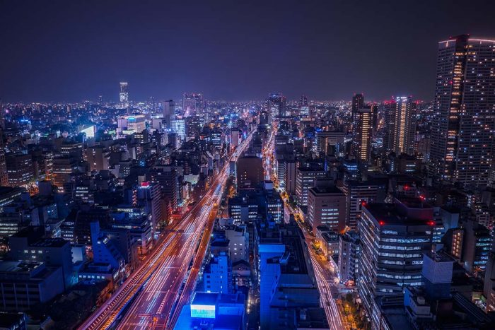 Alojarse en la zona central de Osaka: Honmachi, distrito financiero