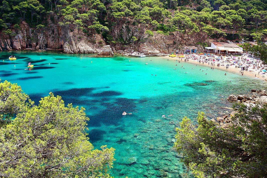 Dónde dormir en Costa Brava, Cataluña: municipio de Begur