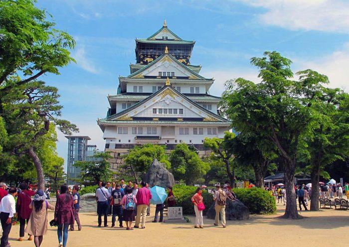 Hospedarse en Osaka: la zona tranquila del Castillo de Osaka