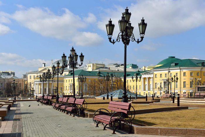 Tverskoy una de las opciones favoritas para dormir en Moscú