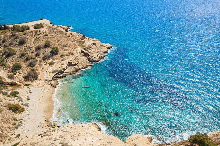 Bucear en la Playa del Tío Ximo de Benidorm