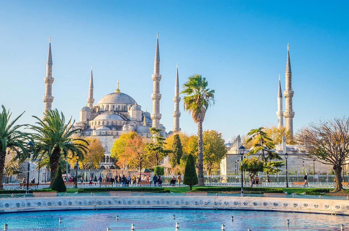 La Mezquita Azul : una de las cosas que ver en Estambul