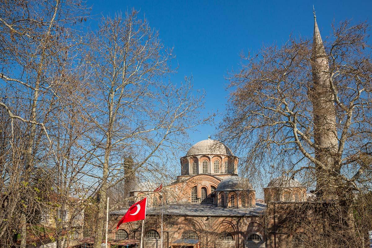 La iglesia de San Salvador entra algunos de los sitios que ver en Estambul