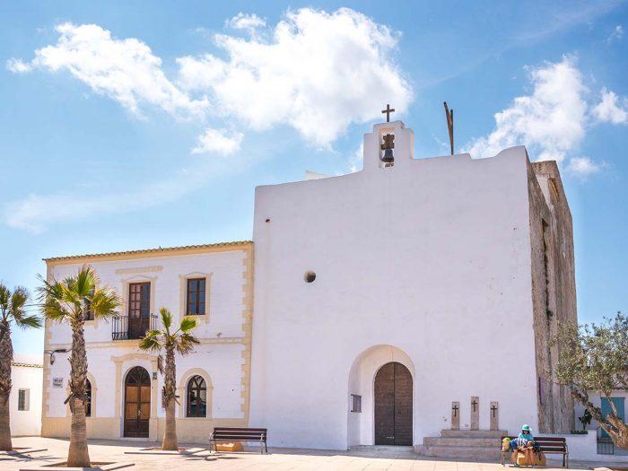 Ver en Formentera: L Iglesia Sant Francesc Xavier