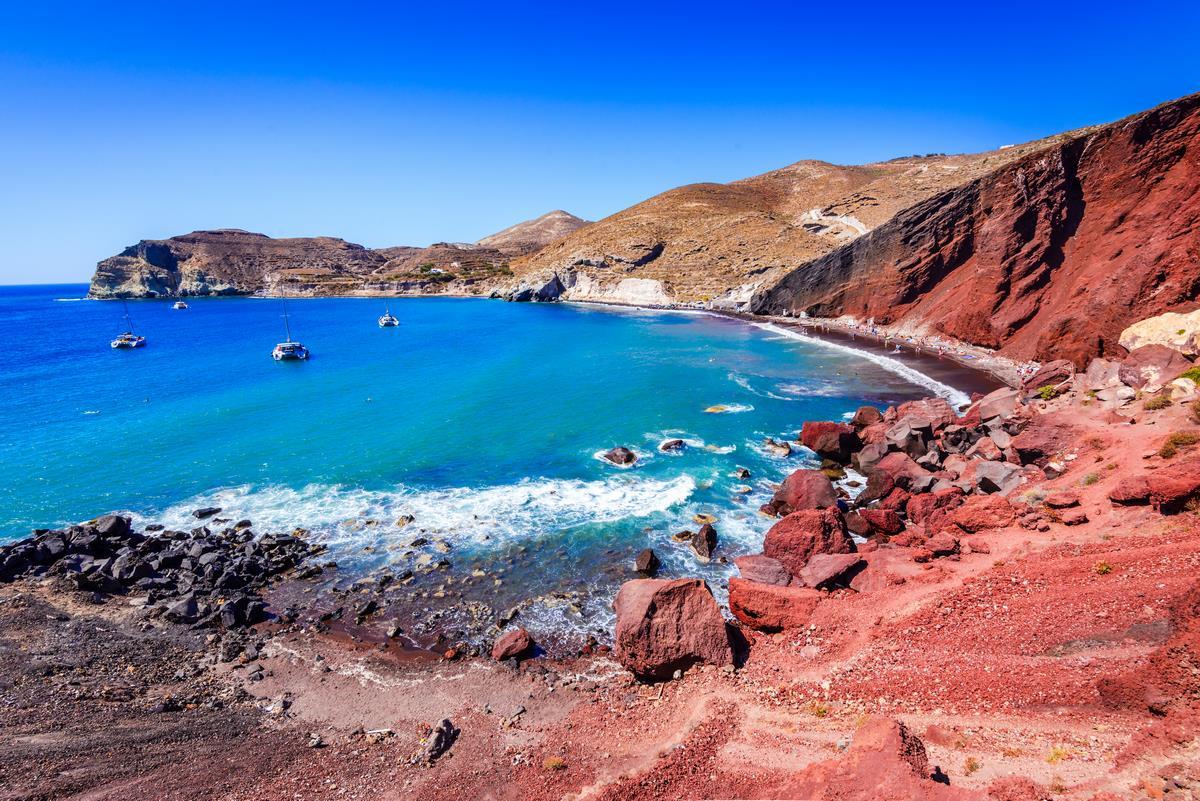 Las mejores playas de Santorini