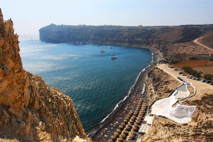 Playas de Santorini: Mesa Pigadia