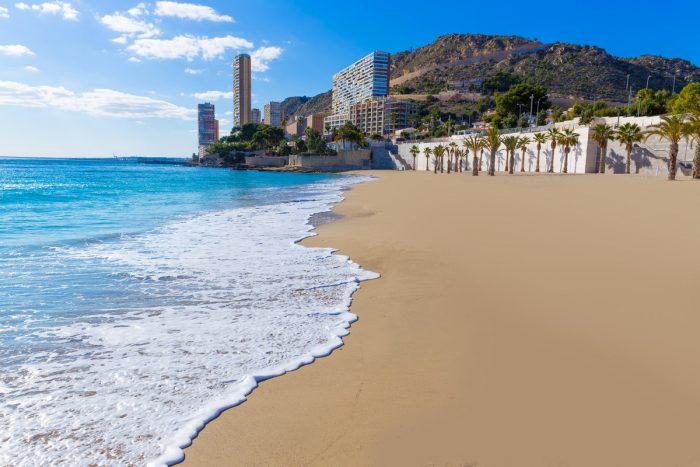 Playas de Alicante: La Albufereta