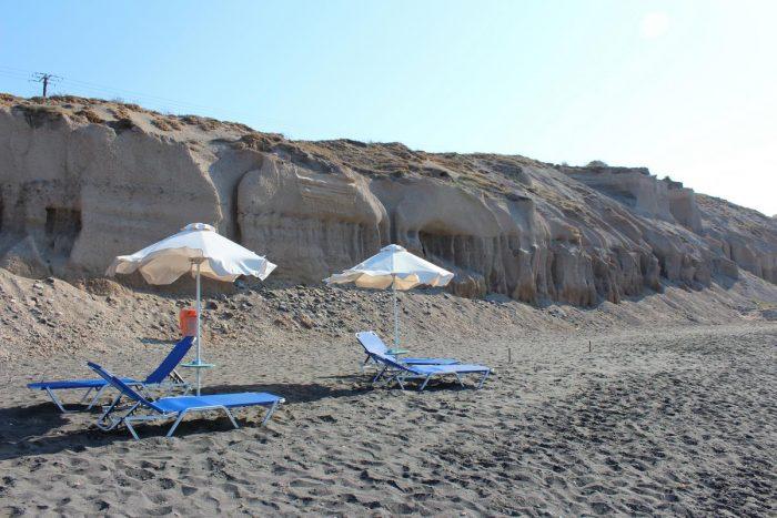 Playas de Santorini: Baxades
