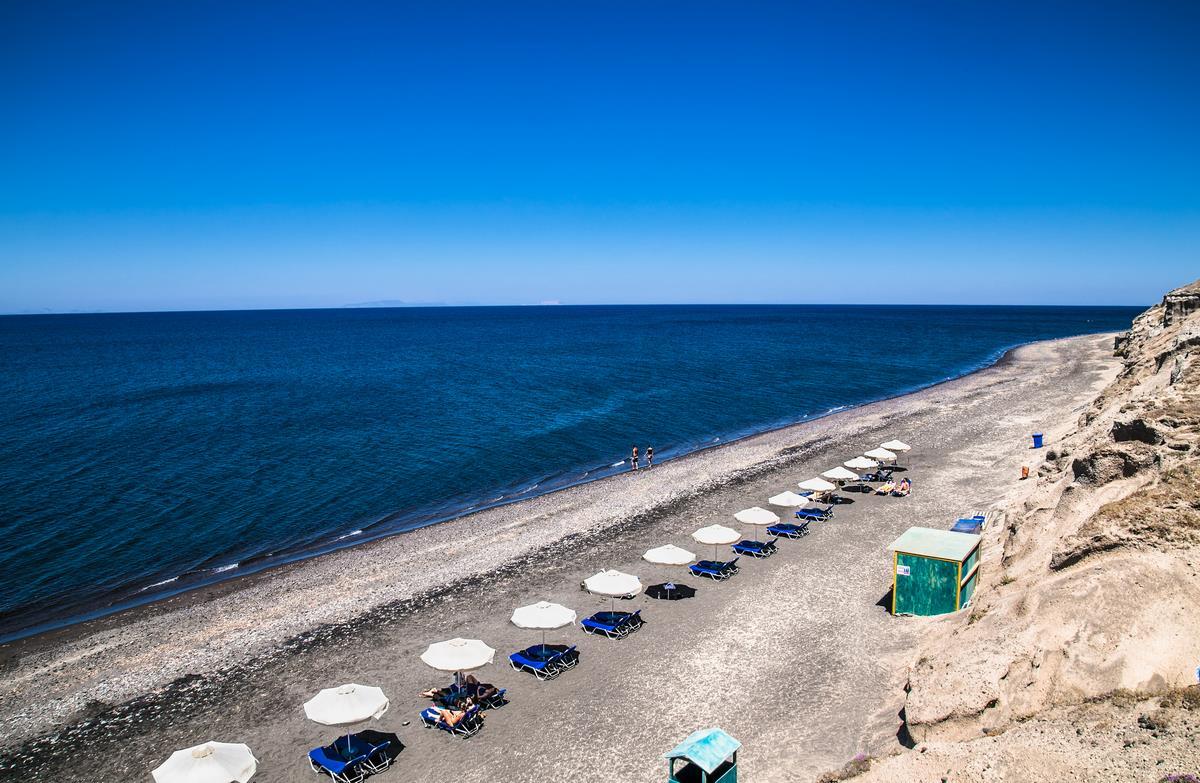 Playas de Santorini: Pori