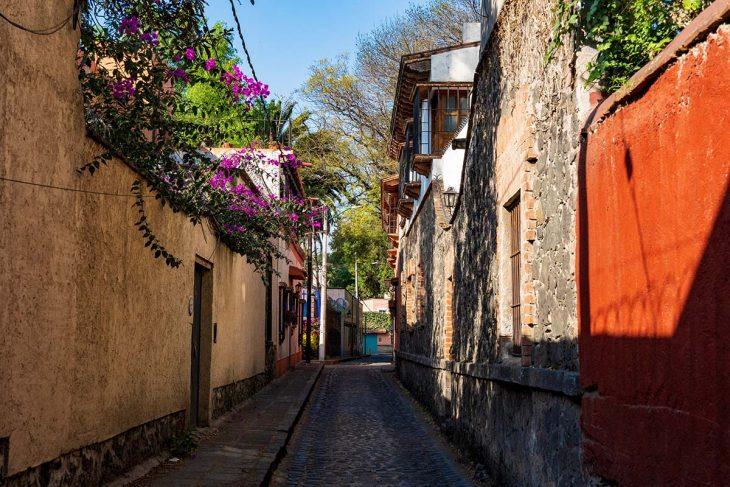 Coyoacán, casas coloniales y atractivos turísticos, México
