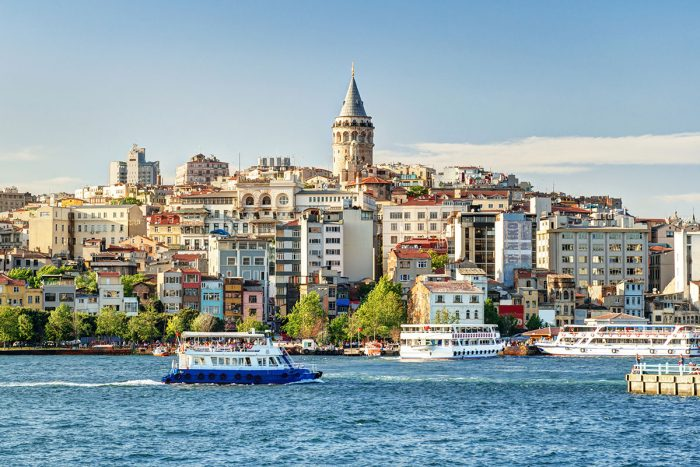 Ver una impresionante panorámica de Estambul desde el mirador de la torre Gálata