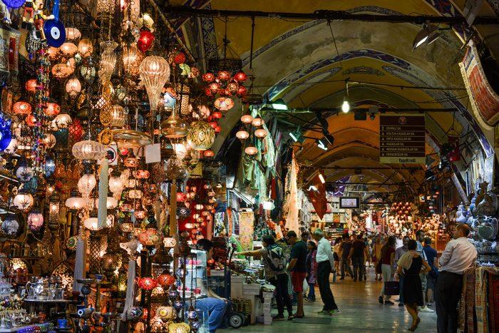 El Gran Bazar, uno de los lugares que hay que ver en Estambul