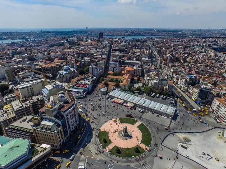Alojamiento en Estambul: El barrio de Taksim, entre los barrios más animados y multiculturales donde dormir en Estambul