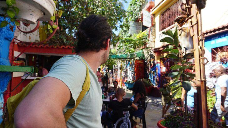 Visita el proyecto comunitario de La Habana: El callejón de Hamel