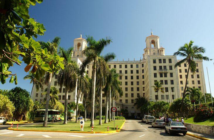 Ver en La Habana el Hotel Nacional de Cuba