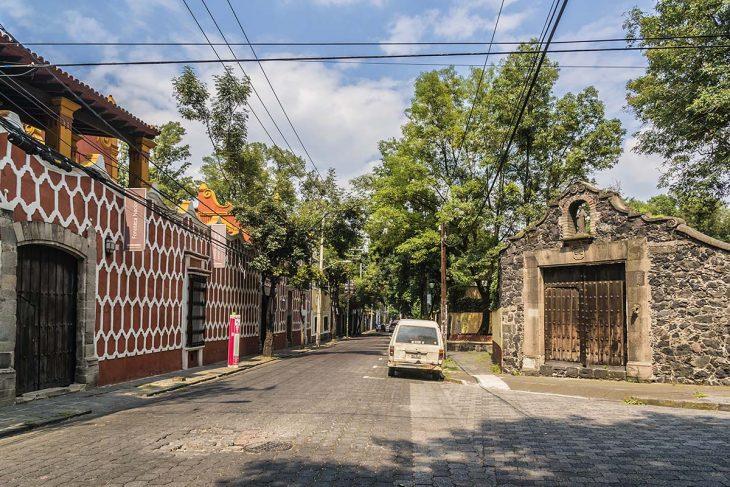 San Ángel, zona muy pintoresca y auténtica donde hospedarse en Mexico