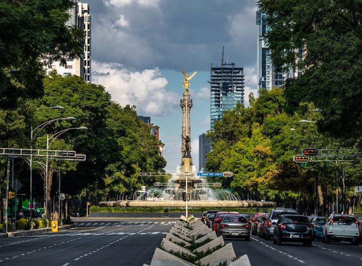 Alojamiento en Mexico: la Zona Reforma