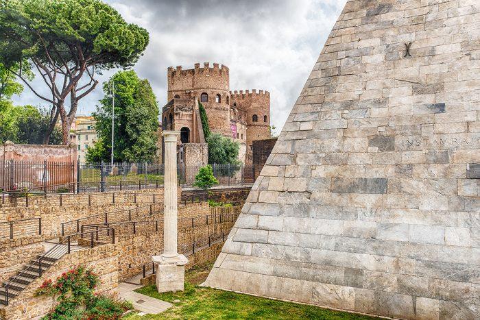 Alojarse en Roma: los barrios de Testaccio y Hóstiense