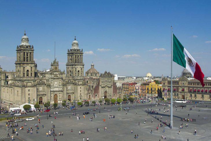 Las mejores zonas donde alojarse en Ciudad de México: Zocalo